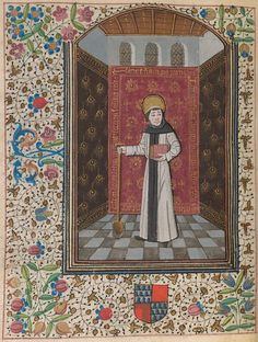 Fiacrius of Meaux | Book of Hours | France, Langres | ca. 1465 | The Morgan Library & Museum