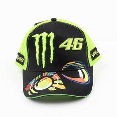 54eaebac98caf Mad Hornets - Fashion Racing Moto MotoGP Valentino Rossi 46 Baseball Hat  Peaked Cap