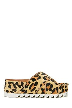 Jeffrey Campbell Menorca Platform Sandal - Leopard   Shop Sandals at Nasty Gal- I think these shoes would make me feel like I was in middle school again
