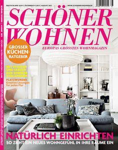 SCHÖNER WOHNEN Heft 8/2012