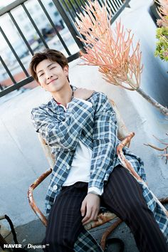 BTS X NAVER DISPATCH 5TH Anniversary photoshoot in LA 6/19/2018 from twitter and NAVER. Namjoon