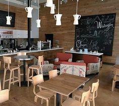 Cafeteiras Moca para iluminar a cafeteria