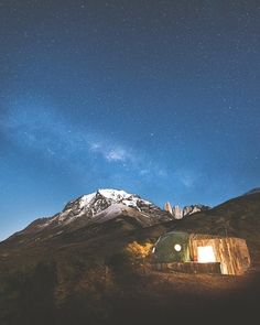 Beautiful camping spot   Torres del Paine National Park Chile |  Sasha Juliard Say Yes To Adventure