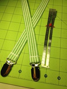 Give your baby boy a classy look by making these suspenders. #DIY #Suspenders #Clothing #Baby
