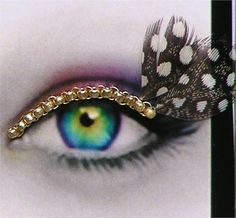eye feathers
