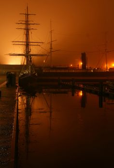 Den Helder; Old ships in the fog | Flickr - Photo Sharing!