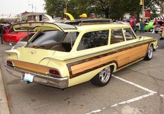 Ford 'faux woody' 1960 wagon