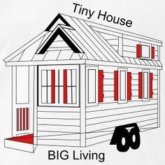 Tiny House Tiny Living the New Big Tiny House Big Living, Tiny House Plans, How To Raise Money, How To Make, How To Plan, House Styles, Men's Fashion, Clothing, Sweatshirt