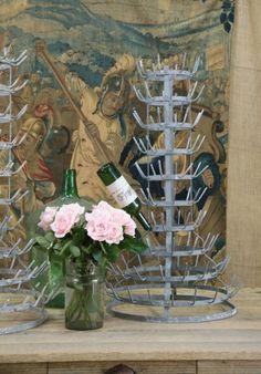 antique bottle racks