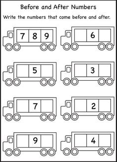 Numbers – Before, After, and Between / FREE Printable Worksheets – Worksheetfun math worksheets free First Grade Worksheets, Free Kindergarten Worksheets, Free Printable Worksheets, Preschool Math, Worksheets For Kids, Math Classroom, Teaching Math, Math Activities, Printable Numbers
