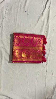 Kanjivaram Sarees Silk, Pure Silk Sarees, Designer Sarees Collection, Saree Collection, Indian Gown Design, Sarees For Girls, Mother Daughter Fashion, Saree Wedding, Wedding Wear