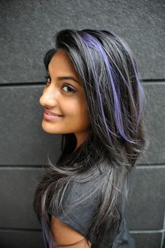 i like, but in silver or grey. I'm tired of having only a few strands of silver in my hair..