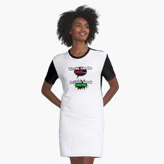 "'Illustration of Lettering ""Baltic Sea"" Brushlettering manual work ' T-Shirt Kleid von raisiksart T Shirt Citations, I Dress, Shirt Dress, Whatever Forever, Bee Movie, Eagle Design, Vintage T-shirts, Lettering, Latina"