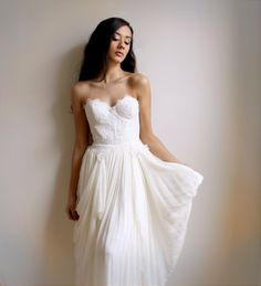Incredible!!  Ghislaine- Lace Wedding Gown--Etsy Exclusive