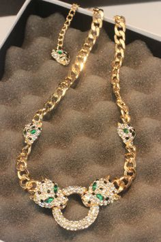 Necklace Europe exaggerated Korean female short paragraph clavicle chain domineering domineering tiger head ornament fake collar Female Shorts, Korean Jewelry, Tiger Head, Paragraph, Very Lovely, Korean Fashion, Ornament, Fashion Jewelry, Europe
