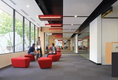 Centre for Adult Education in Melbourne - great ceiling and light detail