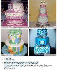 Favorite babyshower cakes