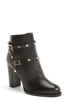 Valentino 'Rockstud' Bootie (Women) available at #Nordstrom