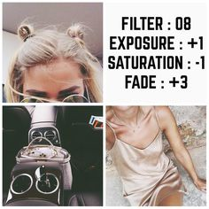 VSCO Cam Filter Settings for Instagram Photos | Filter 08