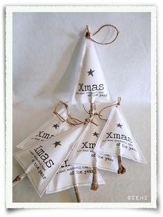 stoffen kerstboomversiering