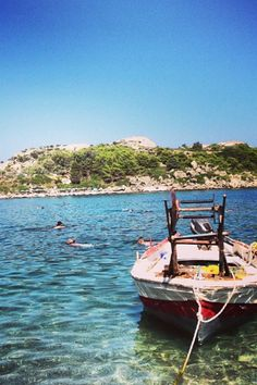 Ladiko Bay, Rhodes Greece