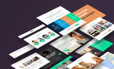 Want to display 3 perspectives on 3 different devices for your website designs? Now you can with this awesome and free perspective website mockup PSD.