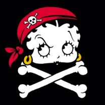 #bettyboop #popfunk  http://www.popfunk.com/mens-tees/betty-boop/boop-pirate.html