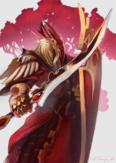 The blood elves are a proud, haughty race, joining the Horde in Burning Crusade. They represent a faction of former high elves, split off from the rest . World Of Warcraft Game, Warcraft Movie, World Of Warcraft Characters, Fantasy Characters, Dota Warcraft, Sin Dorei, Dnd Elves, Chaos Legion, Elf Warrior
