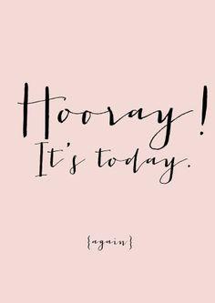 "What's got you saying ""Hooray!"" today? #TGIF"