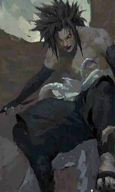 Sasuke...he is creepy