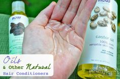 Oils and Other Natural Hair Conditioner Alternatives to Apple Cider Vinegar