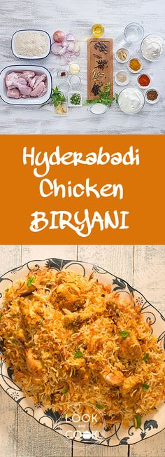 It is a flavourful Indian rice recipe cooked with chicken and spices in one pot.