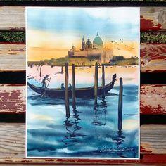Watercolorist: @yulyacherkasova  #waterblog #акварель #aquarelle #painting #drawing #art #artist #artwork #painting #illustration #watercolor #aquarela