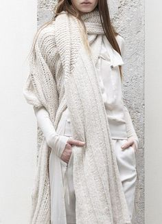256916353713454985_787klezj_c.jpg (fashion,white,knit,scarf)