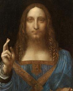 "17 Likes, 1 Comments - ART CONNOISSEURS (@artconnoisseurs) on Instagram: ""Leonardo da Vinci's painting of Jesus Christ, which was sold for a record $450m (£335m) at auction…"""