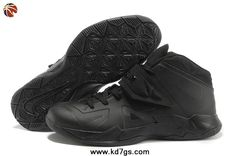 Authentic 599264-888 Nike Zoom Soldier VII All Black Outlet