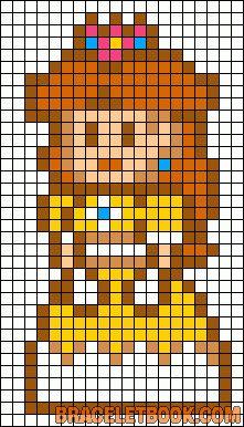 Pixel Art Princesse De Mario