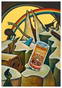 Damaged Landscape (No. Nz Art, Kiwiana, Artist Painting, Contemporary Artists, Art History, Printmaking, Landscape, Canvas, Brown