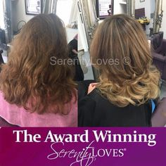 9e3d40c2dfb Colour Makeovers @ Serenity Loves · Beautiful colour and cut from Chiara  our creative director! #beforeandafter #serenityloves #curls