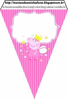 Kit de imprimibles de Pepa Pig para fiesta