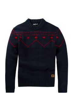 Lyle and Scott Gros pull Fairisle