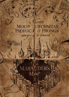 Marauders Map (Harry Potter)