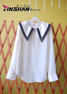 Lasted Fashion leisure women-blouse Throughout quality and experienced QC system size: WX13-L3504  Material: cotton or customised  Color: PLAIN Colour or as per customer's request  Pattern: Long sleeves Sample lead-time: 5-7 days