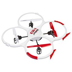 UDI 818A HD Drone Quadcopter with 720p HD Camera Headless Mode with Return to Home Function and Extra Batteries in Exclusive White * To view further for this item, visit the image link.