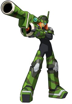 SearchMan.EXE - Characters Art - Mega Man Battle Network 5