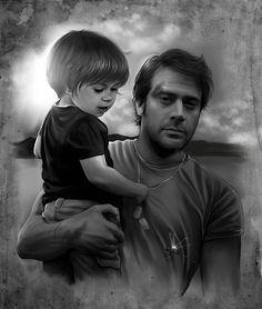 Awesome John Winchester fan art!