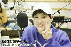 Suho - 151016 KBS-R Cool FM Super Junior Kiss the Radio website update Credit: KBS. (KBS-R 쿨 FM 슈퍼주니어의 키스 더 라디오)