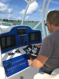 Instrument Panel with Autopilot  azmboats Fast Boats e25ca5cd7e9f