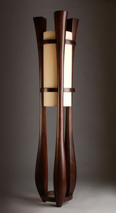 japanese floor lamps paper wood - Google Search