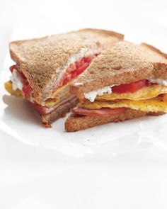 Better Bacon-Egg-And-Cheese Sandwich | 28 Easy And Healthy Breakfasts You Can Eat On The Go